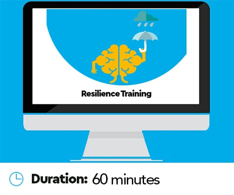 How to build resilience with online training