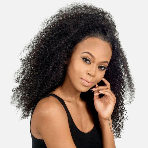 Brazilian Kinky Curly Lace Frontal-Frontals-Daze Hair Extensions
