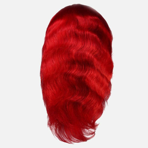 Sizzling Red Brazilian Body Wave Front Lace Wig-Wigs-Daze Hair Extensions