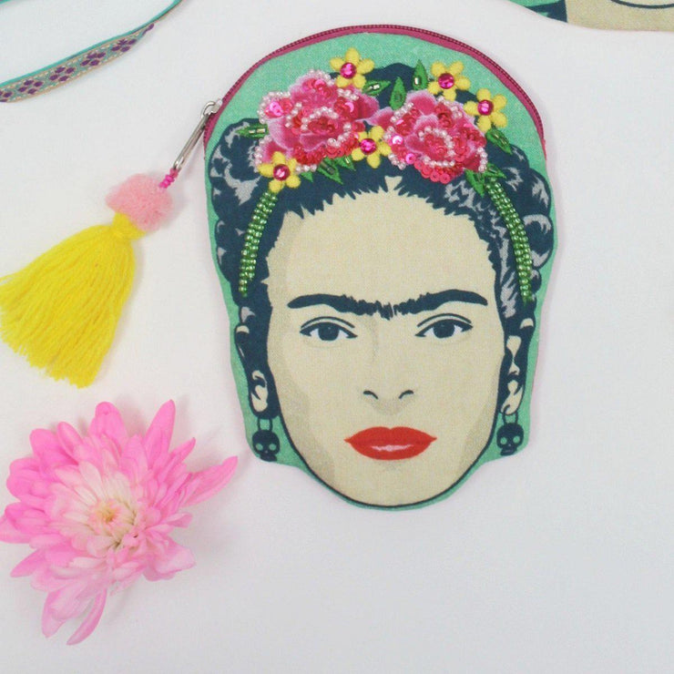 House of Disaster Coin Purse: Frida Kahlo-ESSE Purse Museum & Store