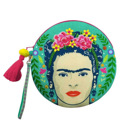 House of Disaster Makeup Bag: Frida Kahlo-ESSE Purse Museum & Store