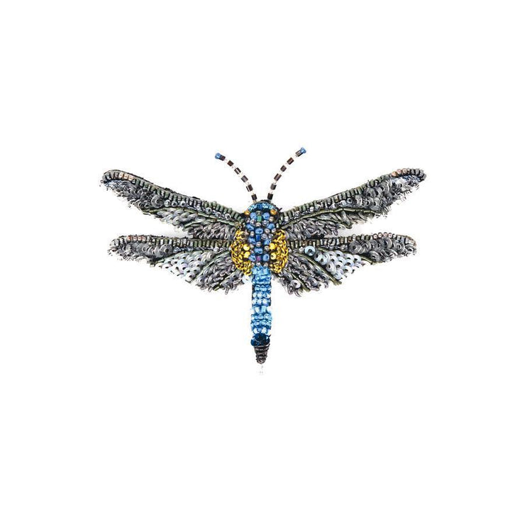 Trovelore Brooch: Blue Dasher-ESSE Purse Museum & Store