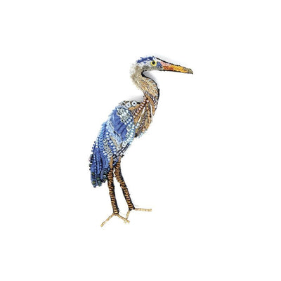 Trovelore Brooch: Blue Heron-ESSE Purse Museum & Store