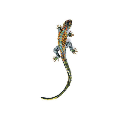 Trovelore Brooch: Caiman Lizard-ESSE Purse Museum & Store