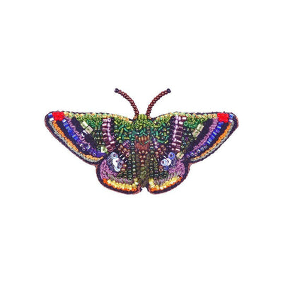 Trovelore Brooch: Green Mantle Butterfly-ESSE Purse Museum & Store