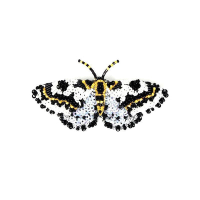 Trovelore Brooch: Magpie Moth-ESSE Purse Museum & Store