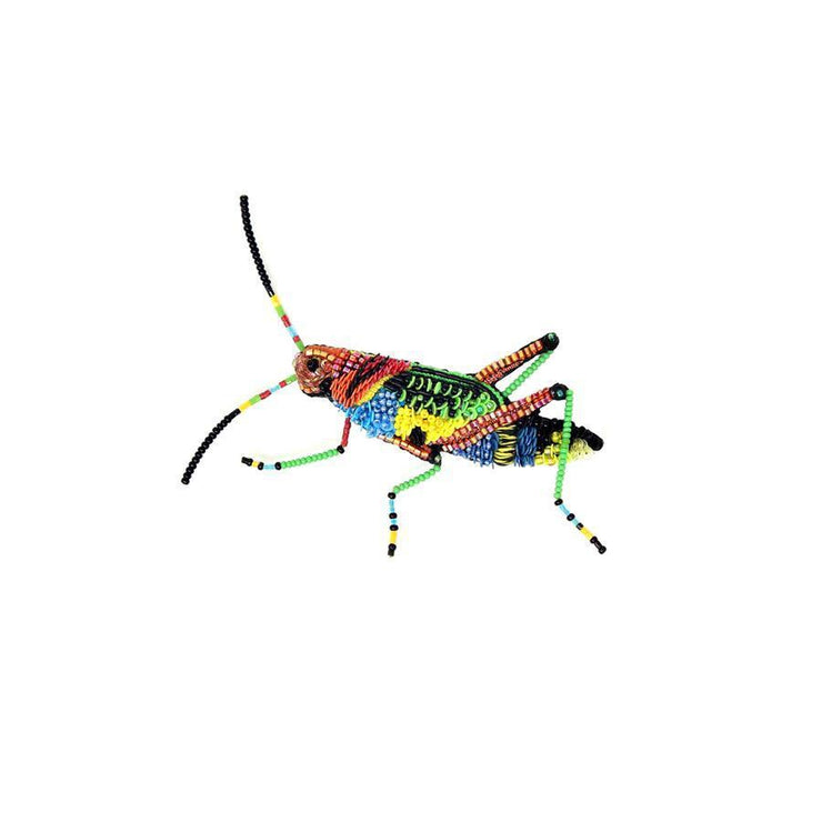Trovelore Brooch: Painted Grasshopper-ESSE Purse Museum & Store