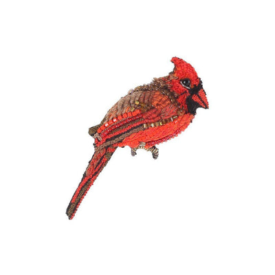 Trovelore Brooch: Red Cardinal-ESSE Purse Museum & Store