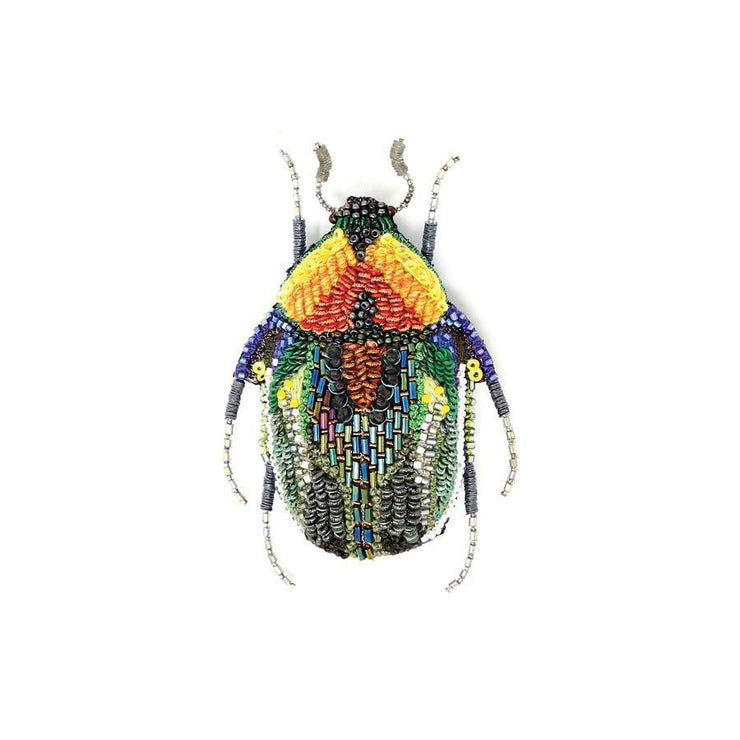 Trovelore Deluxe Brooch: Ground Scarab-ESSE Purse Museum & Store