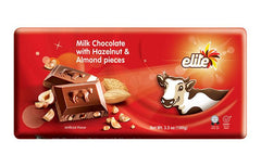 Elite - Milk Chocolate w/ Hazelnuts & Almonds