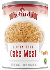 Yehuda Gluten Free Cake Meal, 15-Ounce Cannister