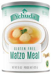 Yehuda Gluten Free Matzo Meal, 15-Ounce Cannister