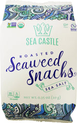 Sea Castle - Roasted Seaweed Snacks, Sea Salt (Kosher for Passover)