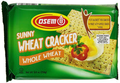 Osem - Sunny Wheat Cracker, Whole Wheat, 8.8-Ounce Package - MakoletOnline