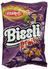 Osem - Bissli Remix Snack, 2.4-Ounce Packages - MakoletOnline