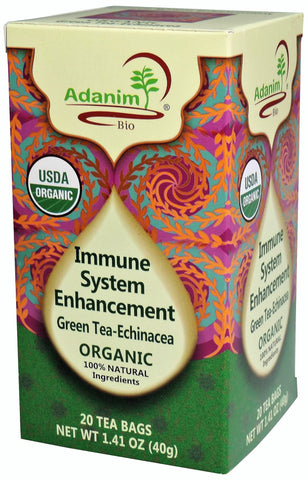 Adanim - Organic Echinacea Green Tea