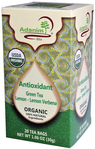 Adanim - Organic Lemon Verbena Green Tea