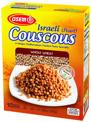 Osem - Israel (Pearl) Couscous Whole Wheat, 8.8-Ounce Boxes - MakoletOnline