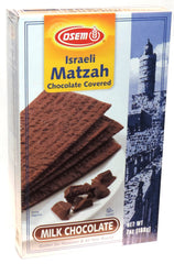 Osem - Israeli Matzah Chocolate Covered, Milk Chocolate. - MakoletOnline