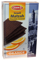 Osem - Israeli Matzah Chocolate Covered, Orange Flavor. - MakoletOnline