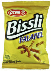 Osem - Bissli Snacks, Falafel Flavor, 2.4-Ounce Packages - MakoletOnline - 2