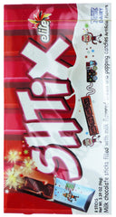 Elite - SHTIX, Milk Chocolate sticks filled with Milk flavored cream and popping candies. - MakoletOnline