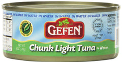 Gefen - Chunk Light Tuna in Water.