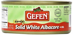Gefen - Solid White Tuna, Albacore, in Oil.