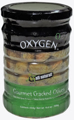 Oxygen - Gourmet Cracked Olives - MakoletOnline