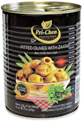Pri-Chen - Pitted Olives with Zaatar.
