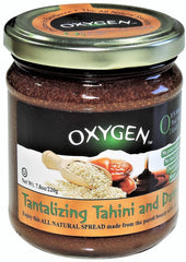 Oxygen - Tantalizing Tahini and Dates (By Aunt Berta)
