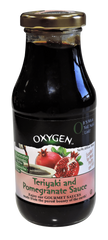 Oxygen - Teriyaki and Pomegranate Sauce