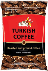Bulk Buy, Elite - Turkish Coffee Bag, 3.5-ounces, 50 bags