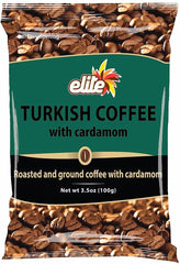 Elite - Turkish Coffee Bag w/ Cardamom, 3.5-ounces