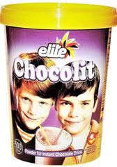 Elite - Chocolit - Instant Chocolate Milk Mix (500gr) 17.6 Ounces - MakoletOnline