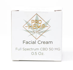 ProHempNYC - Facial Cream, Full Spectrum CBD