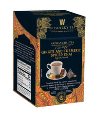 Wissotzky Signature Collection - Ginger & Turmeric Spiced Chai