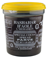Hashachar Ha'ole Parve Chocolate Spread, 16-Ounce - MakoletOnline