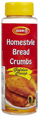 Osem - Golden Crisp Bread Crumbs, 15.0-Ounce Packages - MakoletOnline