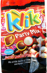 Klik Party Mix Chocolate Covered , 2.64 Ounces - MakoletOnline