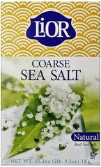 Lior - Coarse Sea Salt, 35.2 Ounce  Box - MakoletOnline