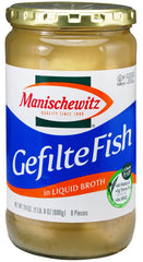 Manischewitz - Gefilte Fish in Liquid Broth. - MakoletOnline
