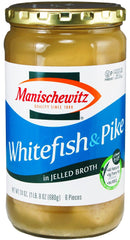 Manischewitz - Whitefish & Pike in Jellied Broth - MakoletOnline