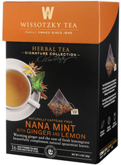Wissotzky, Signature Collection - Nana Mint with Ginger and Lemon - MakoletOnline