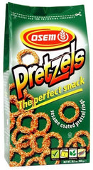Osem - Sesame Pretzel Rings, 10.5-Ounce Package - MakoletOnline