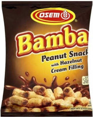 Osem - Bamba, Peanut Snack with Hazelnut Cream Filling. - MakoletOnline