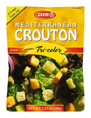 Osem Mediterranean Tri-Color Croutons, 5.25-Ounce Package - MakoletOnline