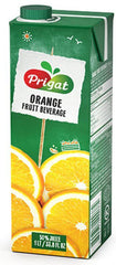 Prigat - Orange Fruit Beverage, 1 LT Carton. - MakoletOnline