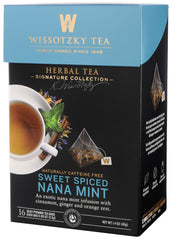 Wissotzky, Signature Collection - Sweet Spiced Nana Mint - MakoletOnline