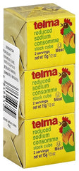 Telma, Chicken Consomme Cube, 3 cubes of 0.5 Ounce, reduced Sodium. - MakoletOnline